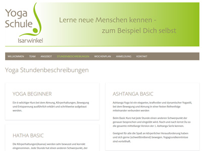 Heim Pages Webdesign Referenzen Showroom