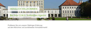 Homepage O.M.S. Immobilien Agentur